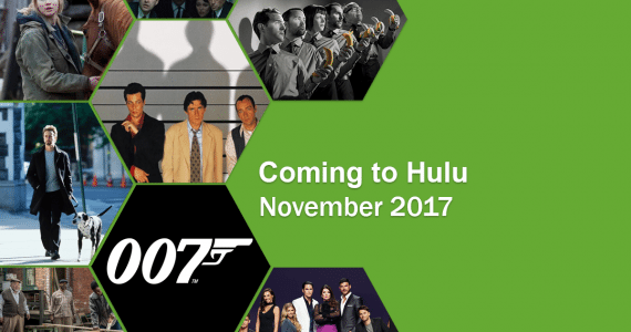 Coming to Hulu in November 2017