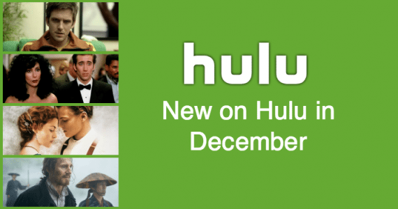 New This Month on Hulu: December 2017